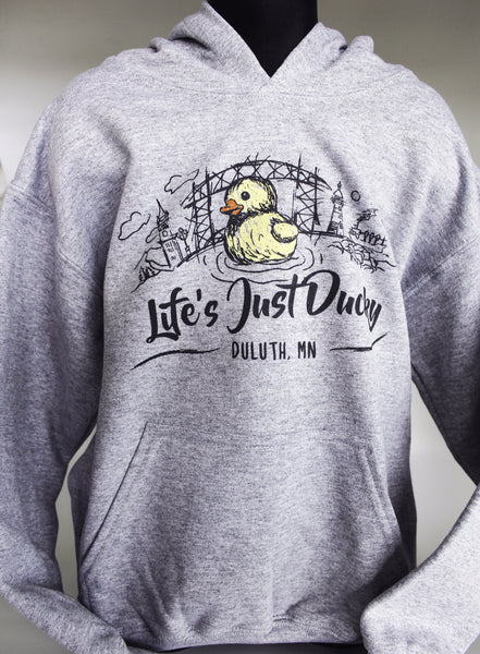 Life's Just Ducky Youth Hooded Sweatshirt