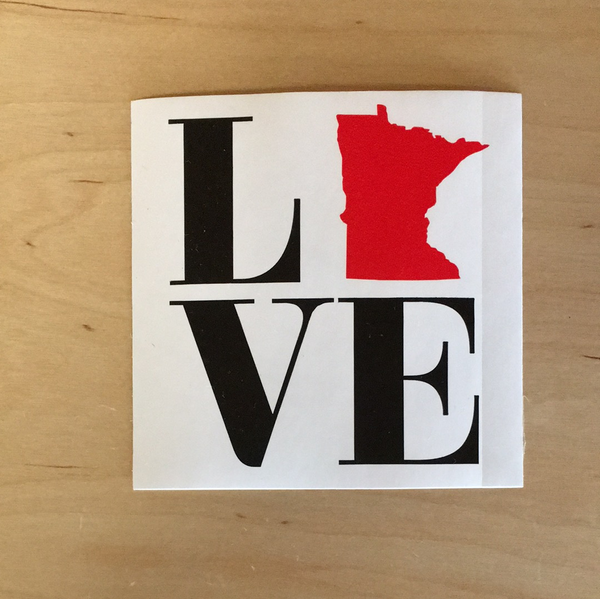 MN Love sticker