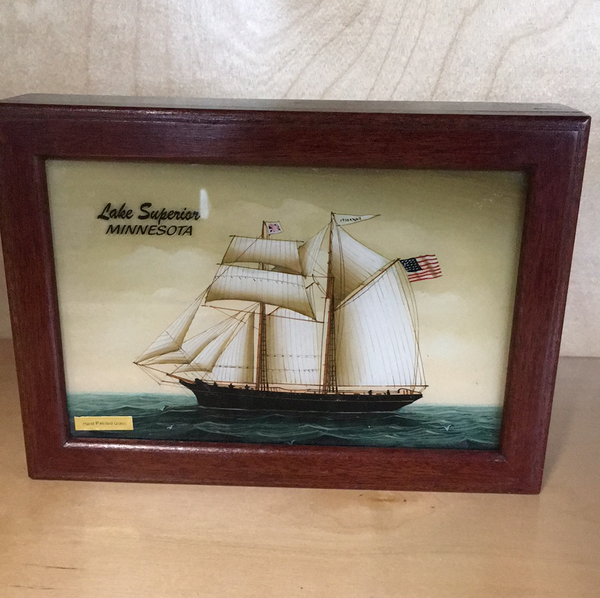 Tall ships decorative box