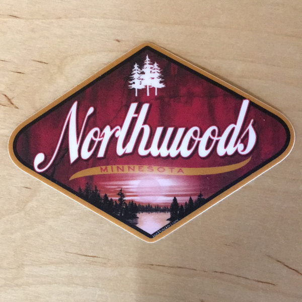 North woods sticker