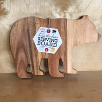 Boris the Bear Serving Board