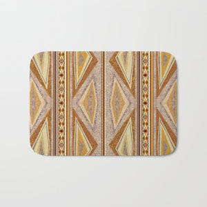 Charger l'image dans la galerie, Tapis de Douche : Tribal Orange