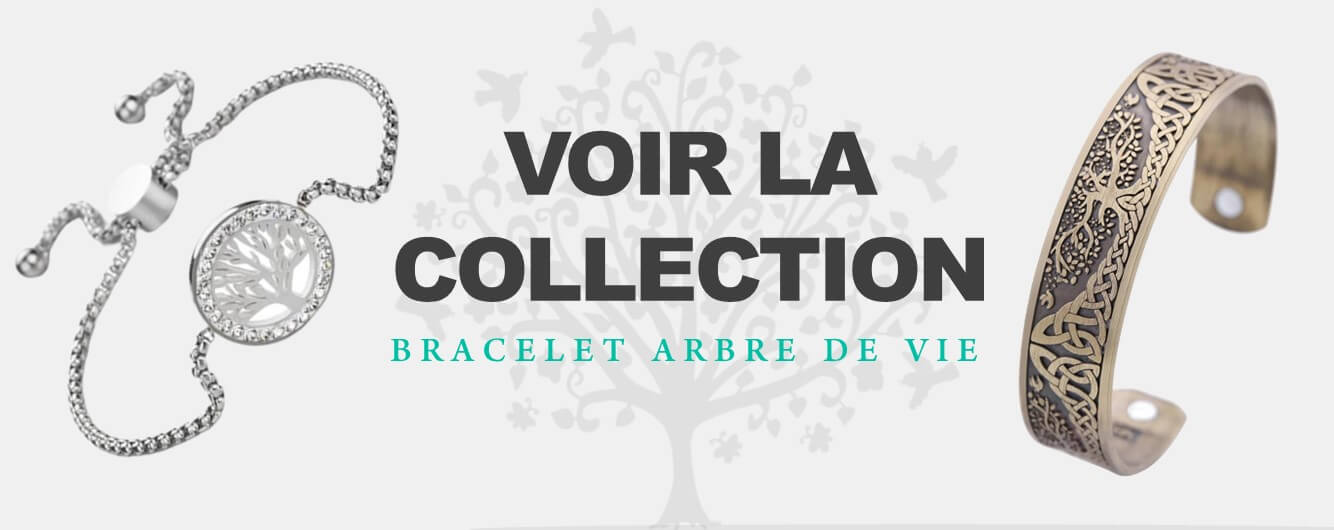 collection bracelet arbre de vie