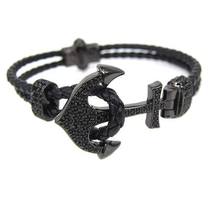 Bracelet Homme Luxe Ancre