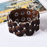 Bracelet de Force marron homme