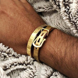 Bracelet Homme Luxe Pas Cher or