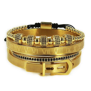 Bracelet Homme Luxe Or