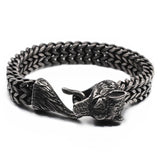 Bracelet Viking Fermoir Queue de Loup