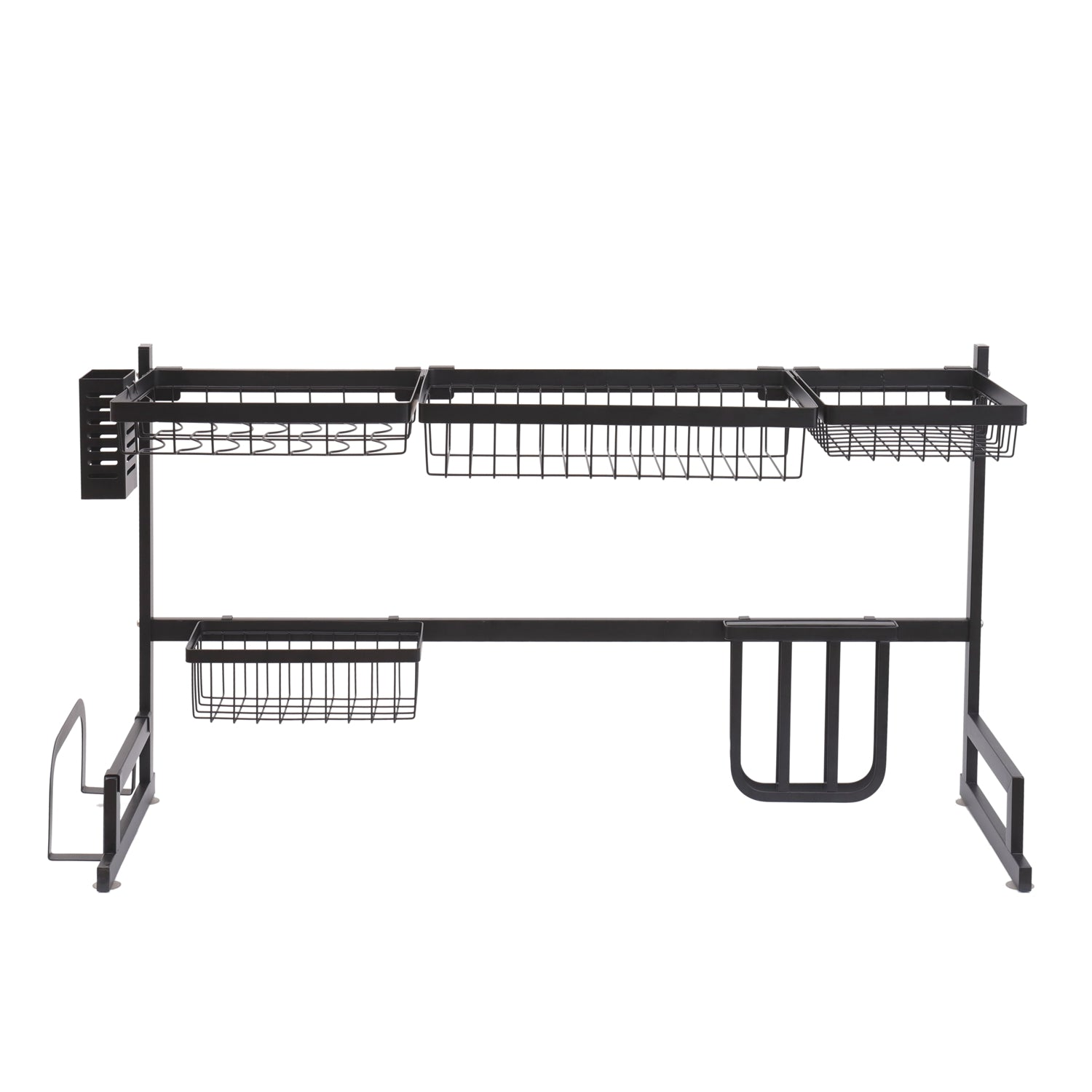 ALTA Over Sink Black Stainless Steel Dish Drying Rack