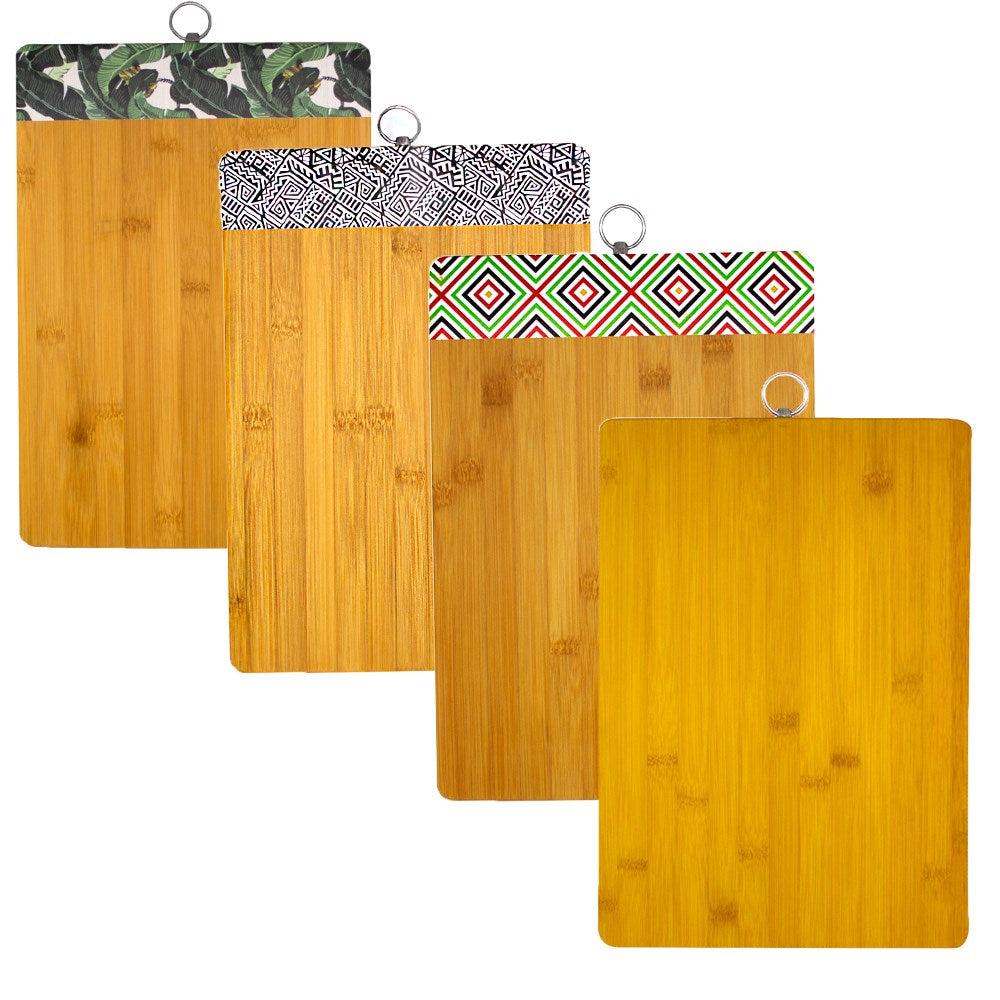 Alta Bamboo Cutting Boards - Set of 4