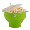 ALTA Silicone Popcorn Maker with Lid - Green