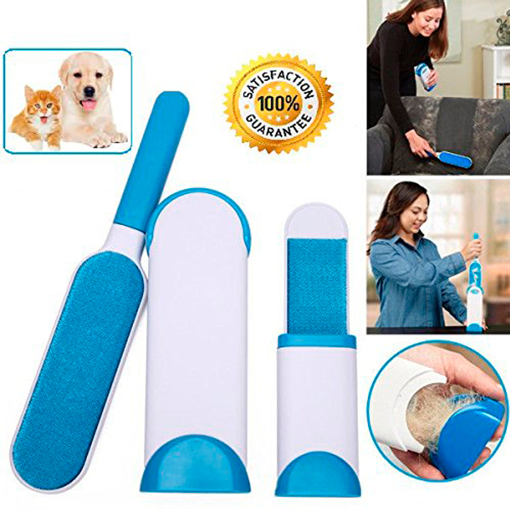 FurMate Re-usable Pet Fur Remover with Self Cleaning Base