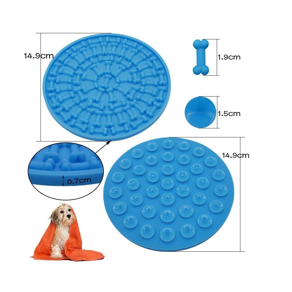 FurMate Silicone Dog Lick Pad for Bathing Distraction