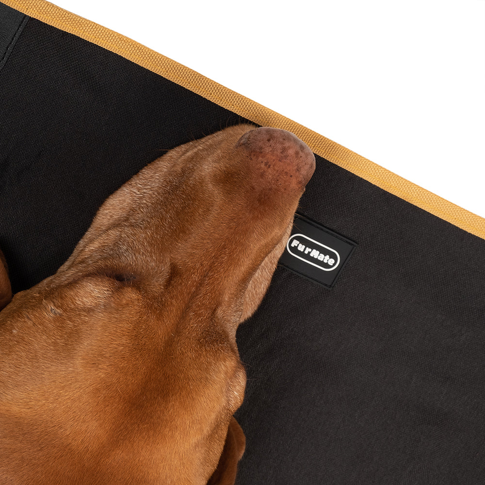 FurMate Pet Car Seat Cover - Hammock Design