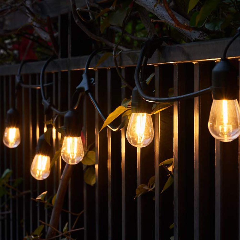 Litehouse Festoon LED Vintage Bulb String Light -10m