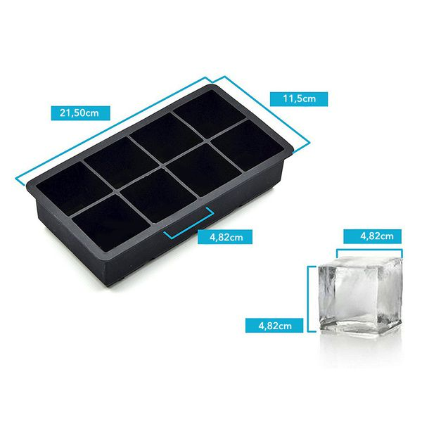 ALTA Ice Tray (8 Cubes) - Blue (Set of 2)