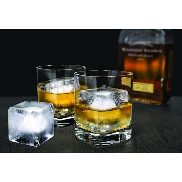 ALTA Ice Tray (8 Cubes) - Black (Set of 2)