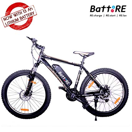 BattRE Electric Cycle. 250 Watt Motor,