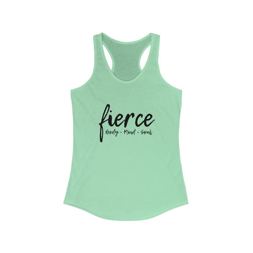 FIERCE - Women's Ideal Racerback Tank