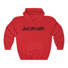 Load image into Gallery viewer, JUST BREATHE - Unisex Heavy Blend™ Hooded Sweatshirt