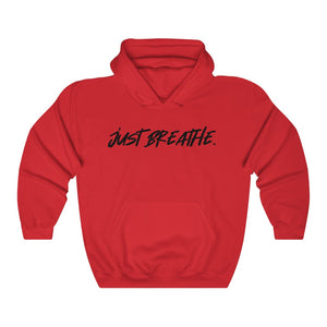 JUST BREATHE - Unisex Heavy Blend™ Hooded Sweatshirt