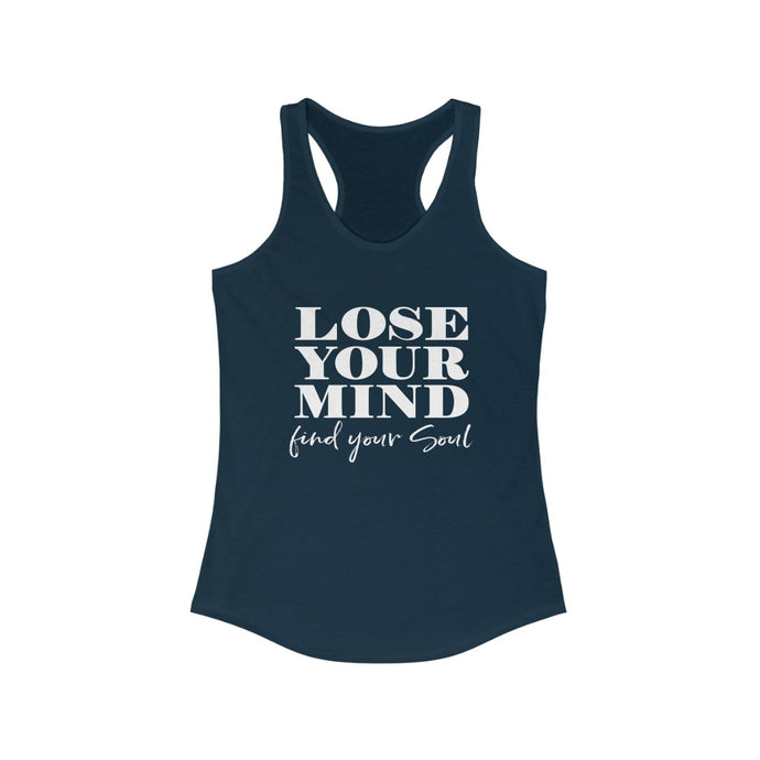 FIND YOUR SOUL - Women's Ideal Racerback Tank