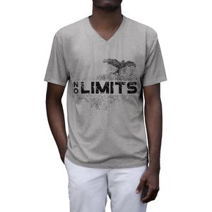 NO LIMITS - Men's Tri-Blend V-Neck T-Shirt