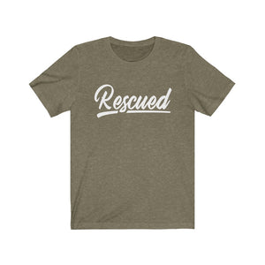 RESCUED - Unisex Jersey Short Sleeve Tee