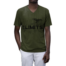 Load image into Gallery viewer, NO LIMITS - Men's Tri-Blend V-Neck T-Shirt