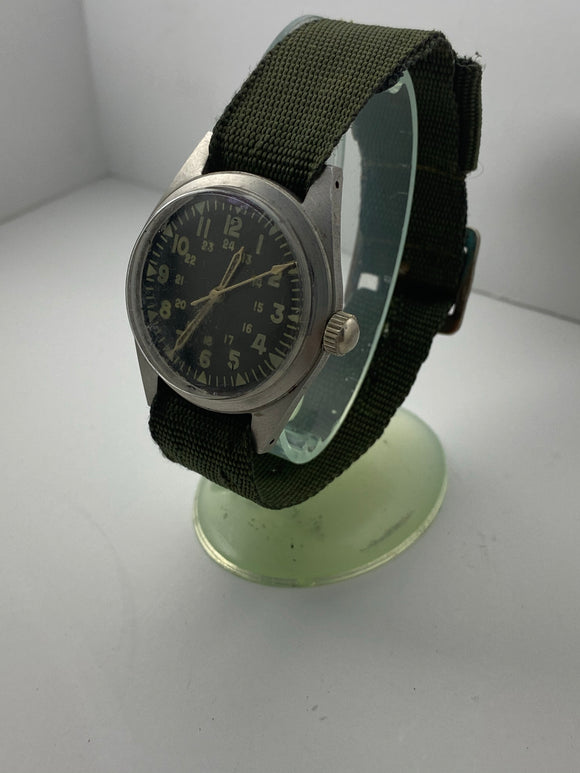 Vintage Hamilton Military Watch GG-W-113