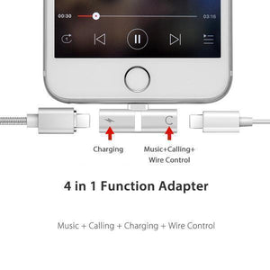 DUALBOOM™ - 4 in 1 Super Adapter for iPhone (Buy 1 Get 1 Free)