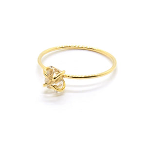 Open image in slideshow, Herkimer Solitaire Ring