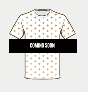 Power Tee white/gold