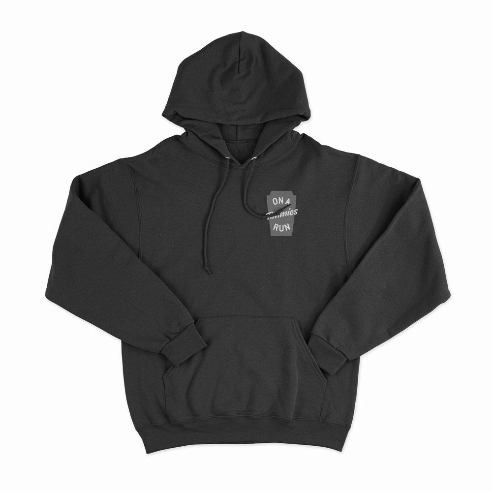Load image into Gallery viewer, On A Timmies Run - Unisex Hoodie - Noble Authority