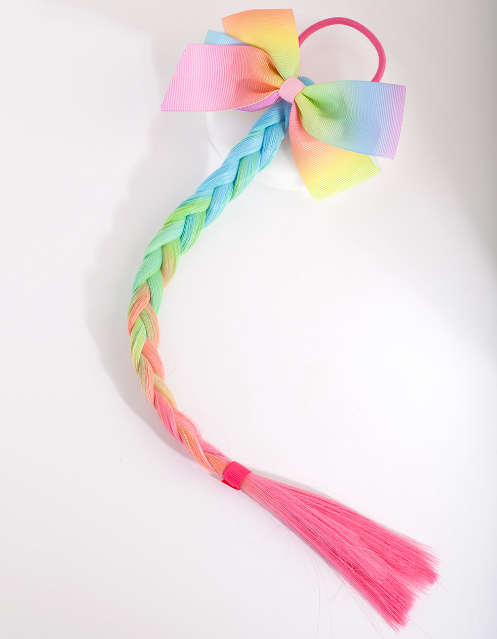 Kids Rainbow Fake Hair Tie