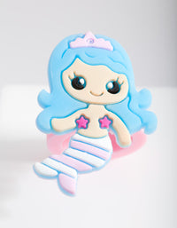 Kids Mermaid Rubber Ring - link has visual effect only