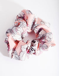 Floral Blush Scrunchie - link has visual effect only