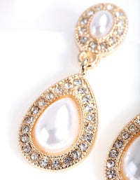 Gold Mini Angelina Drop Earring - link has visual effect only