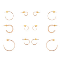 Gold Sleeper Earring 6 Pack - link has visual effect only