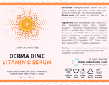 Vitamin C Serum - Australian Made - Derma Dime