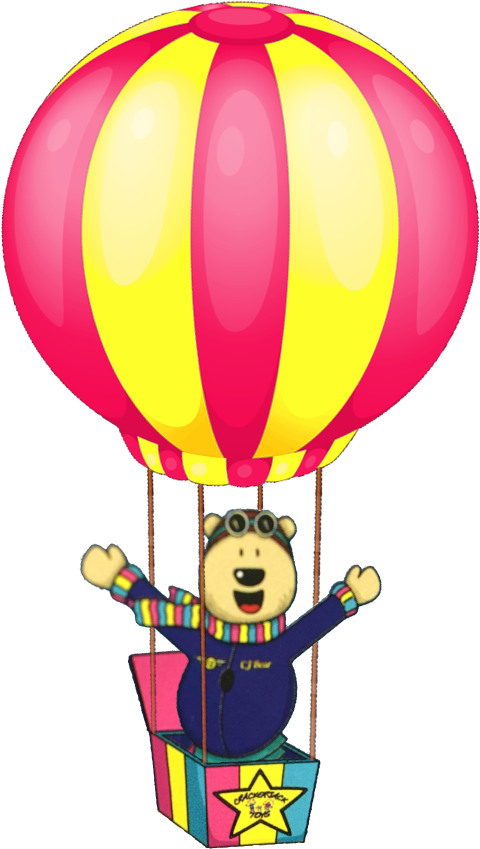 CJ Bear's Hot Air Balloon