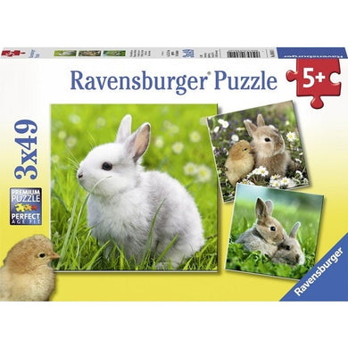 RB Cute Bunnies 3x49pc