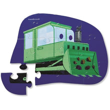 Load image into Gallery viewer, CC Mini Shaped  Puzzle Bulldozer