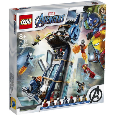 Lego SH Avengers Tower Battle 76166
