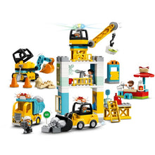 Load image into Gallery viewer, Lego Duplo Tower Crane 10933