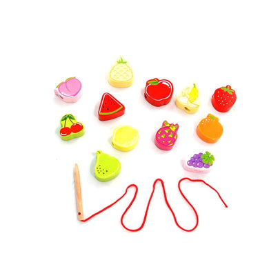 Fruit Lacing Beads