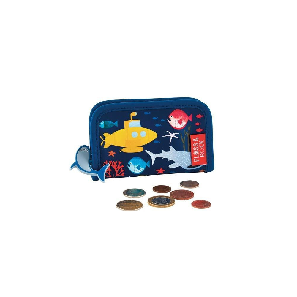 Floss & Rock Deep Sea Wallet