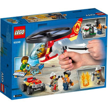 Load image into Gallery viewer, Lego City Fire Heli Response 60248