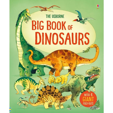 Big Book of Dinosaurs New