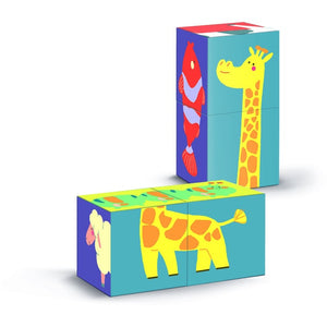 Shape Cubes Animals